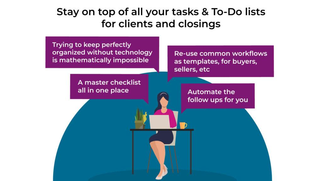 real estate lawyer software helps you stay on top of all your tasks