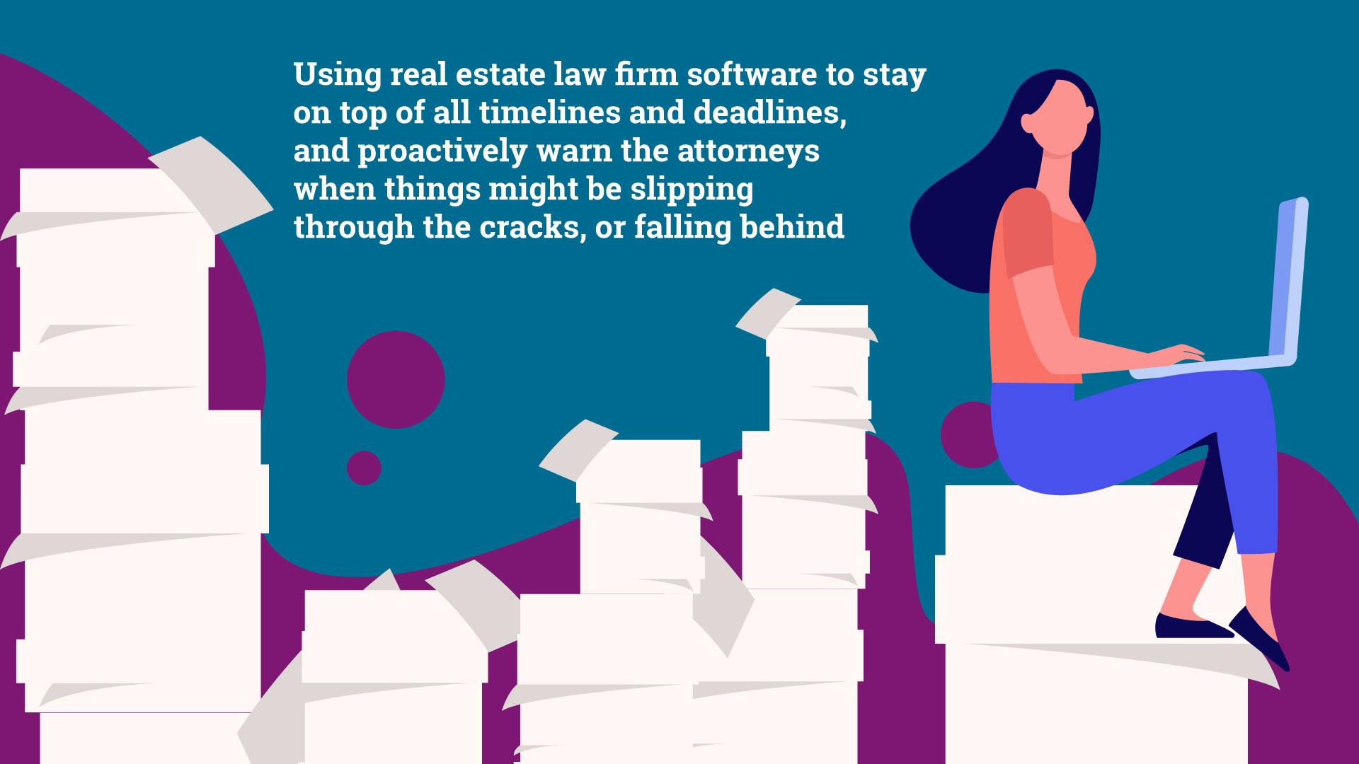 The key to real estate paralegal skills is managing multiple areas and staying focused