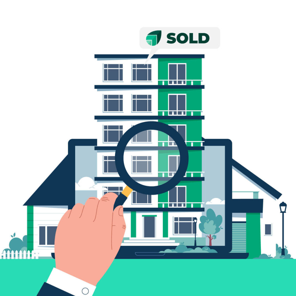 Real estate law software for communication