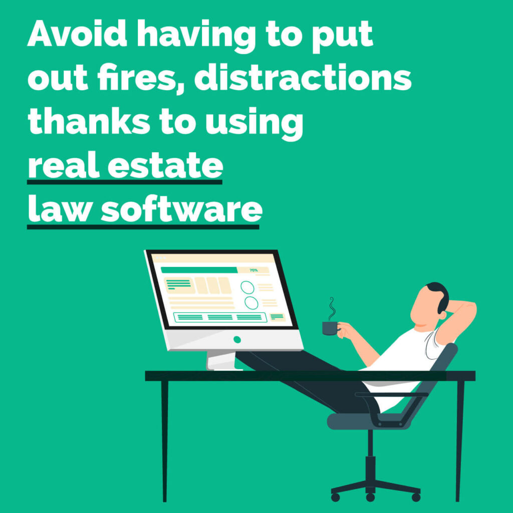Real Estate Law Software - no fires