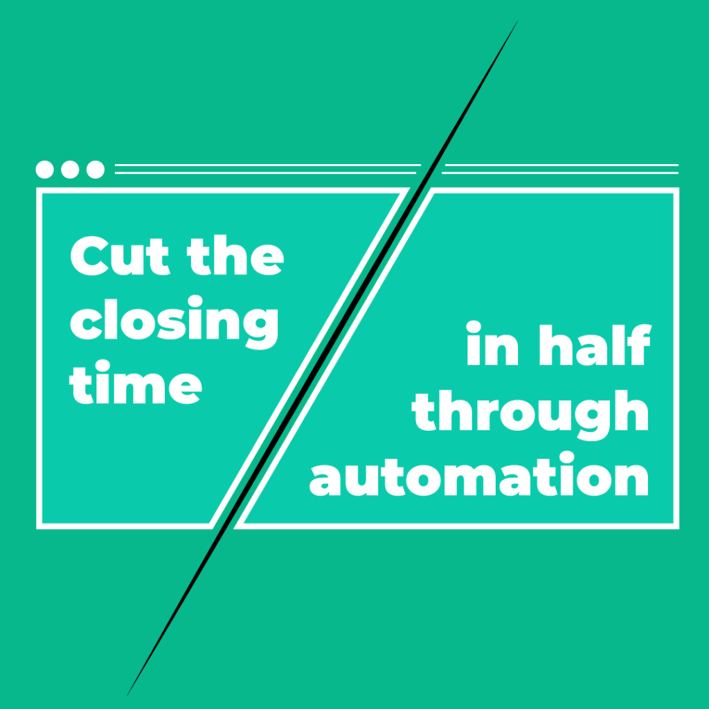 Real estate law software cuts the closing time in half